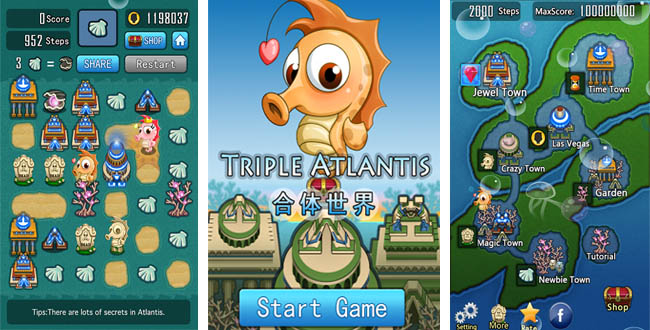 Triple Atlantis