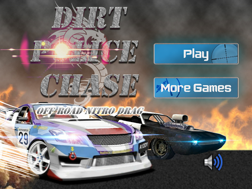 Car Chase Games: Dirt Police Car Chase Nitro 3D » Android Games 365