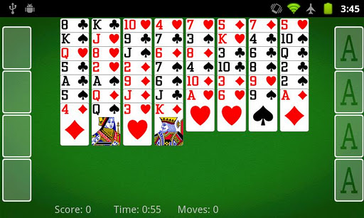 FreeCell Solitaire » Android Games 365 - Free Android Games Download