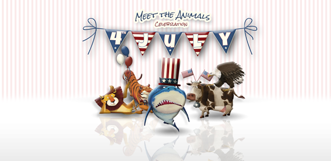 """4th of July """"Meet the animals"""""""