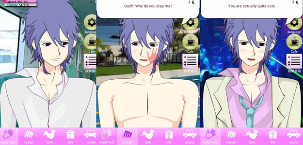 Android Anime Dating-Spiele