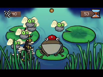 Frantic Frog Free » Android Games 365 - Free Android Games Download