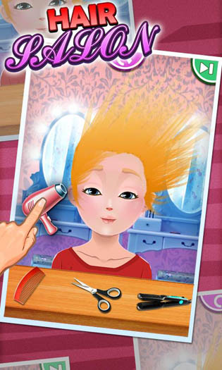 Hair Salon - Kids Games » Android Games 365 - Free Android ...