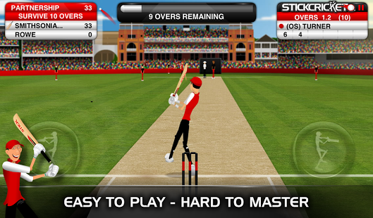 free stick cricket games to play online free