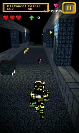 Mine Run 3D: Escape 2 Temple
