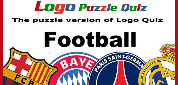 Football: logo puzzle quiz