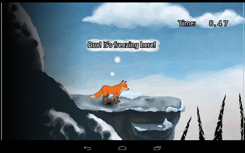 , fox, fun, run, game, no-ads, jump, dash, animal, android, sequel