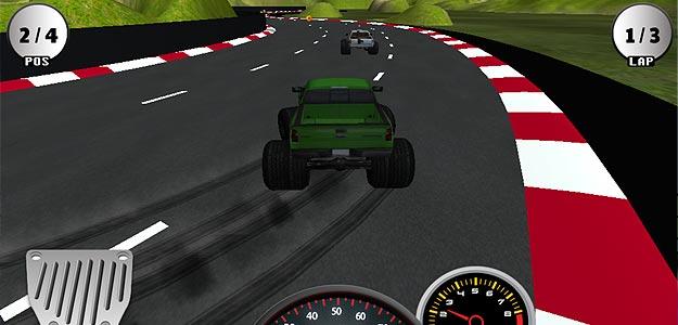 Monster Truck Racing-3D Racing