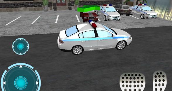 Download Car Driving Games >> Ultra 3D police Car parking » Android Games 365 - Free Android Games Download