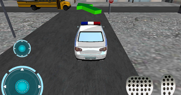 Ultra 3D police Car parking