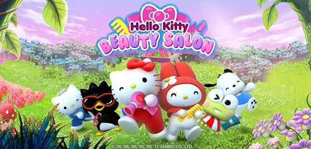 Hello Kitty Beauty Salon!
