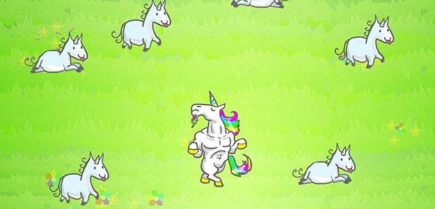 Unicorn evolution party
