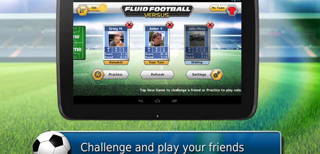 Fluid Soccer Versus