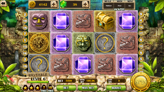 Mayan Mystery Slot Machine - Play for Free Instantly Online