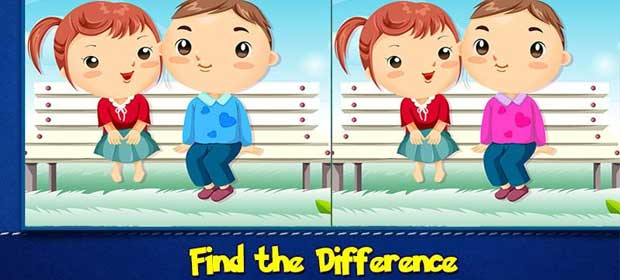 Spot the difference puzzle games