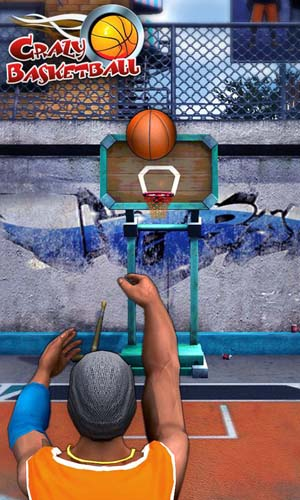 Crazy Basketball - sports game