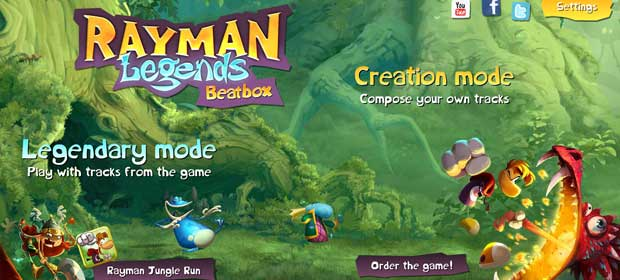 Rayman Legends Beatbox
