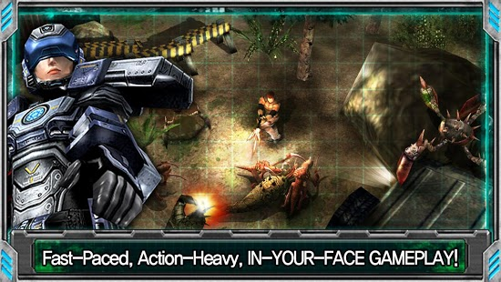 alien shooter 3d game for android