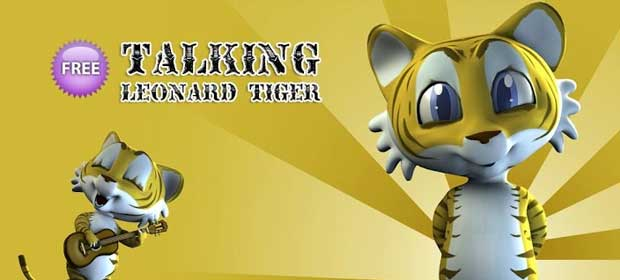 Talking Leonard Tiger