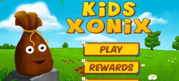 Kids Xonix Game