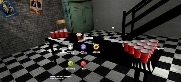 beer pong game online