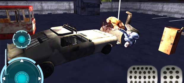 Zombie outbreak car parking 3D