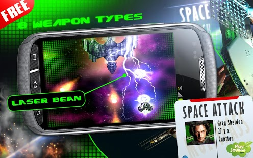 Space Attack Shooter HD free