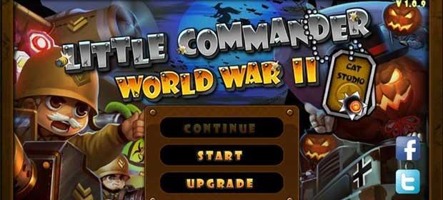 Little Commander WW2 Halloween