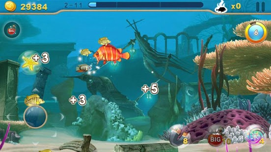Fish predator android games 365 free android games for Fish fishing games