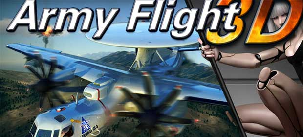3D Army plane flight simulator