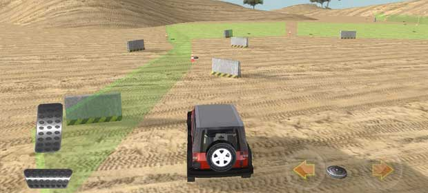 Off-Road Driving Safari 3D