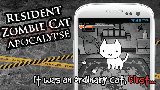 Resident Zombie Cat Apocalypse
