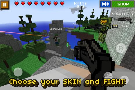 Pixel Gun 3D (Minecraft style)