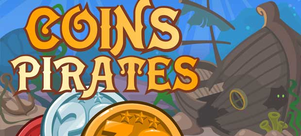 Coins Pirates: Match 3 in row