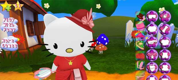 Hello Kitty. Dress Up 3D.