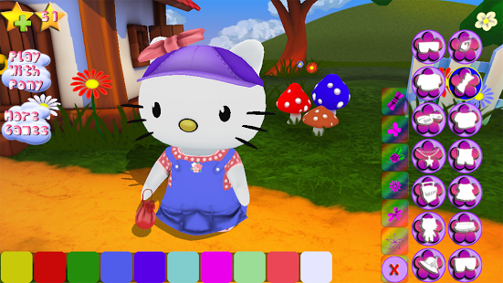 Hello Kitty. Dress Up 3D.