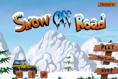Snow Off Road