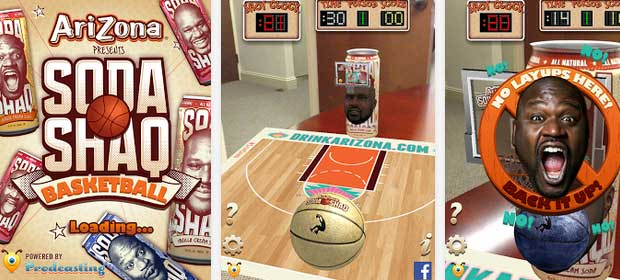 Soda Shaq Basketball