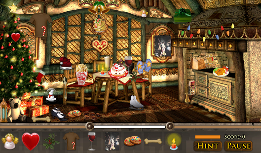 free no download christmas hidden object games