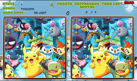 Anime Spot the Difference » Android Games 365 - Free