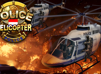 Police helicopter - 3D flightHelicopter Police Games