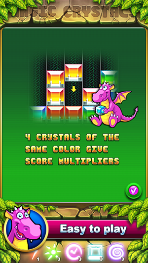 Magic Crystals Match 3 Puzzle 187 Android Games 365 Free