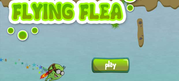 Flying Flea - Jetpacking Fleas