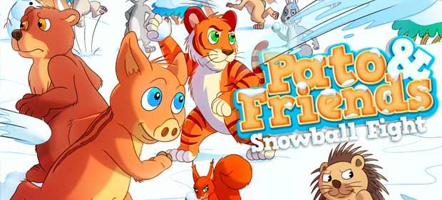 Pato & Friends Snowballfight