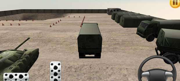 Army Car Parking