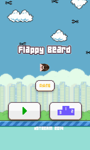 Flappy Beard