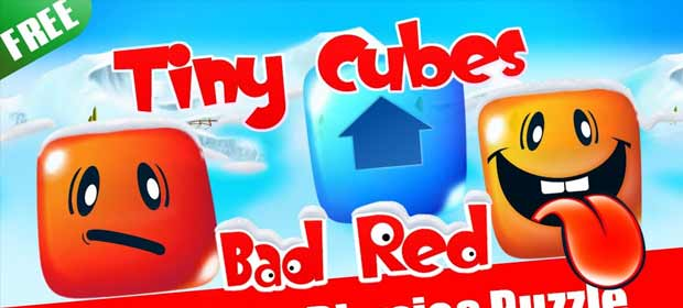 Tiny Cubes - Red Bad Block