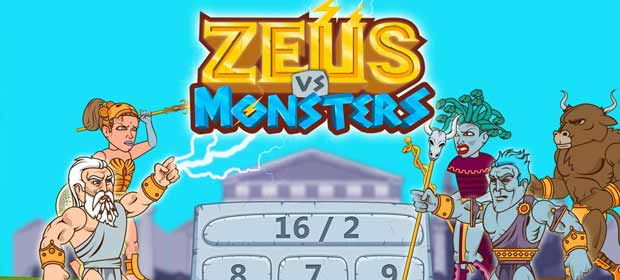 Zeus vs. Monsters - Math Game