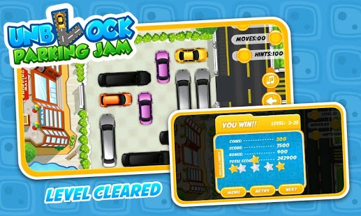 Unblock parking jam free 187 android games 365 free android games