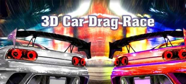 3D Car Drag Race